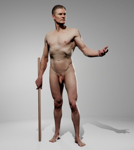 Male 01 Pose Pack