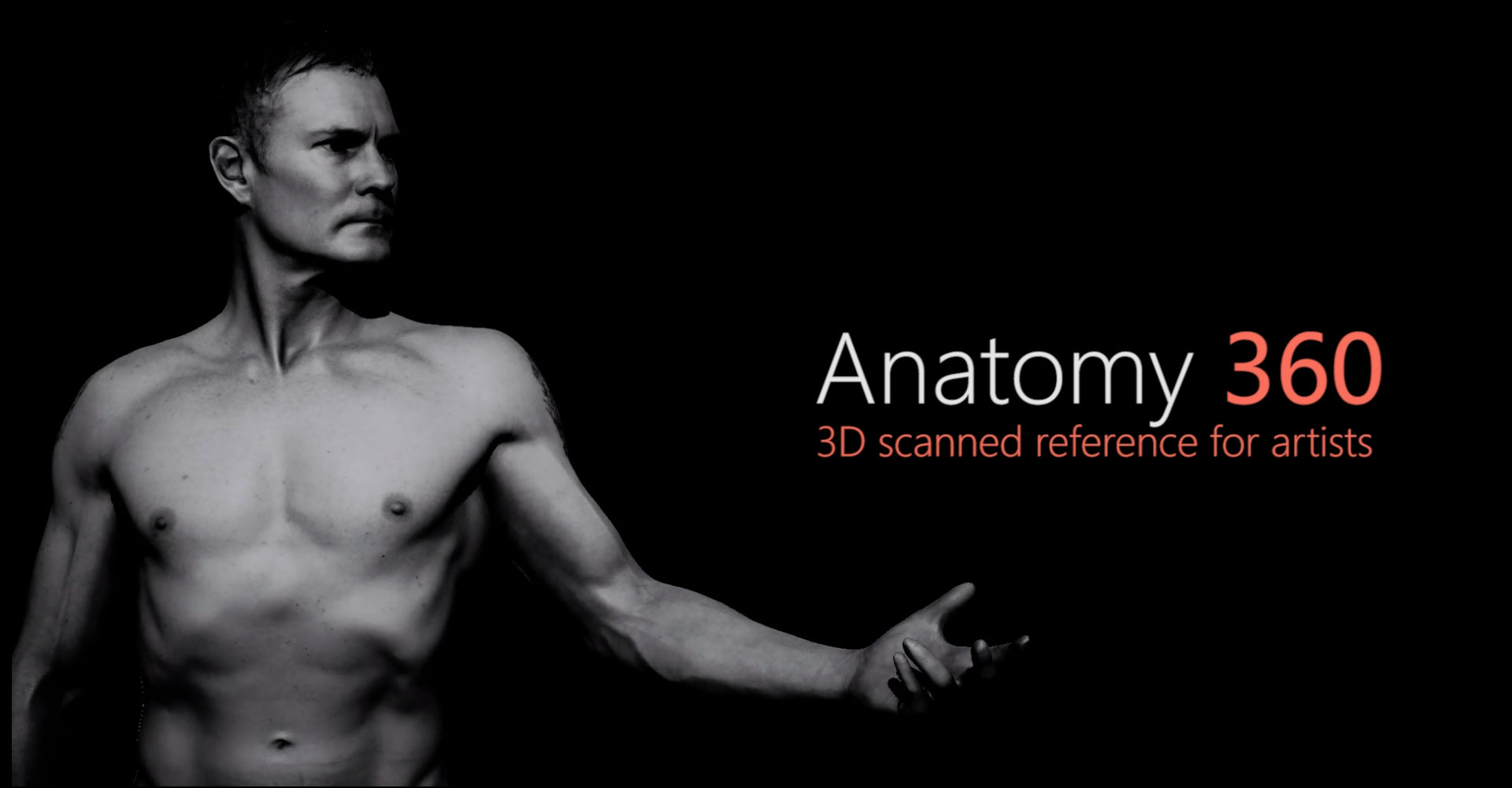 Anatomy 360 | Real 3D reference for artists
