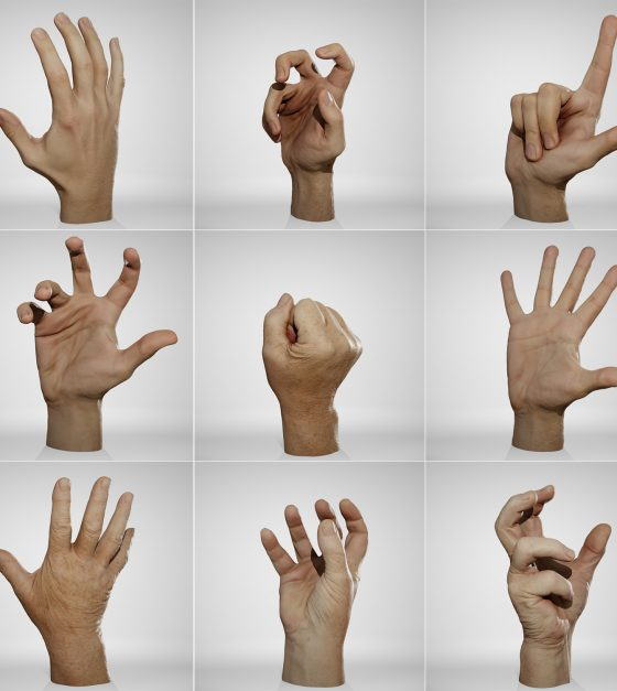 Male-Hands