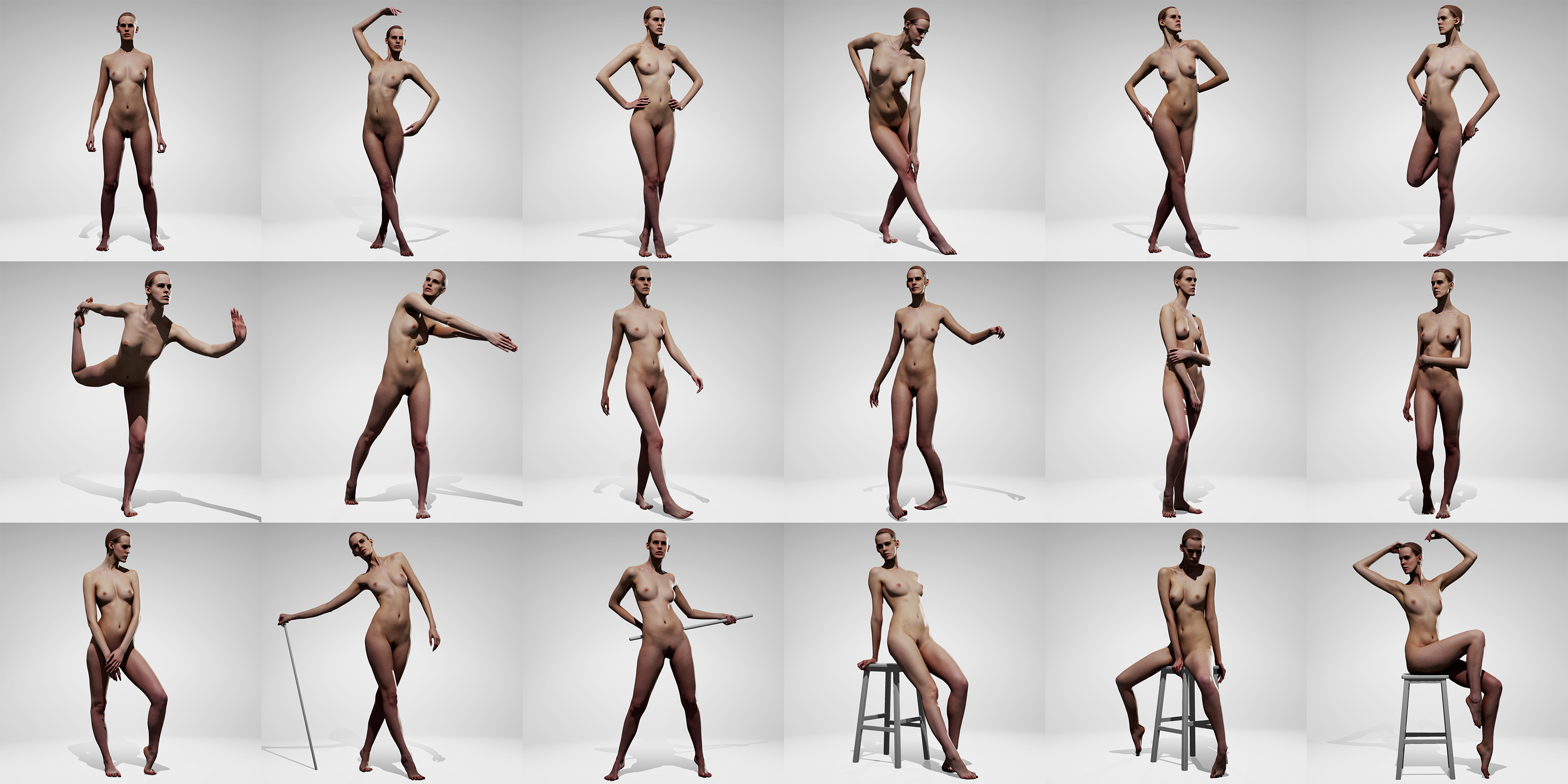 dragon ball girls nude